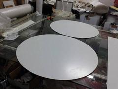 深圳LED圆形异形灯箱广告招牌导光板