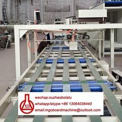 mgo sheet roof tile machine