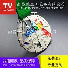 北京比賽獎牌學校獎牌定製廠家