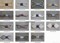 批發定製木領結出售