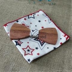 批發定製儿童木質領結
