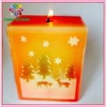 Nice Christmas Candles for Home Decoration