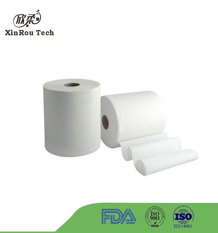 100% Cotton Spunlace Nonwoven Fabric for Wet Wipe Spunlace Nonwoven Wet Tissue 1