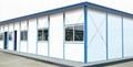 供應內蒙赤峰焊接式防風工地用活動板房 3