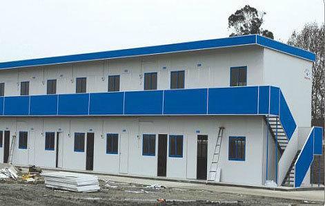 供應內蒙赤峰焊接式防風工地用活動板房 2