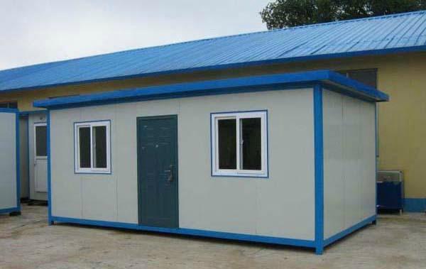 供應內蒙赤峰焊接式防風工地用活動板房 1