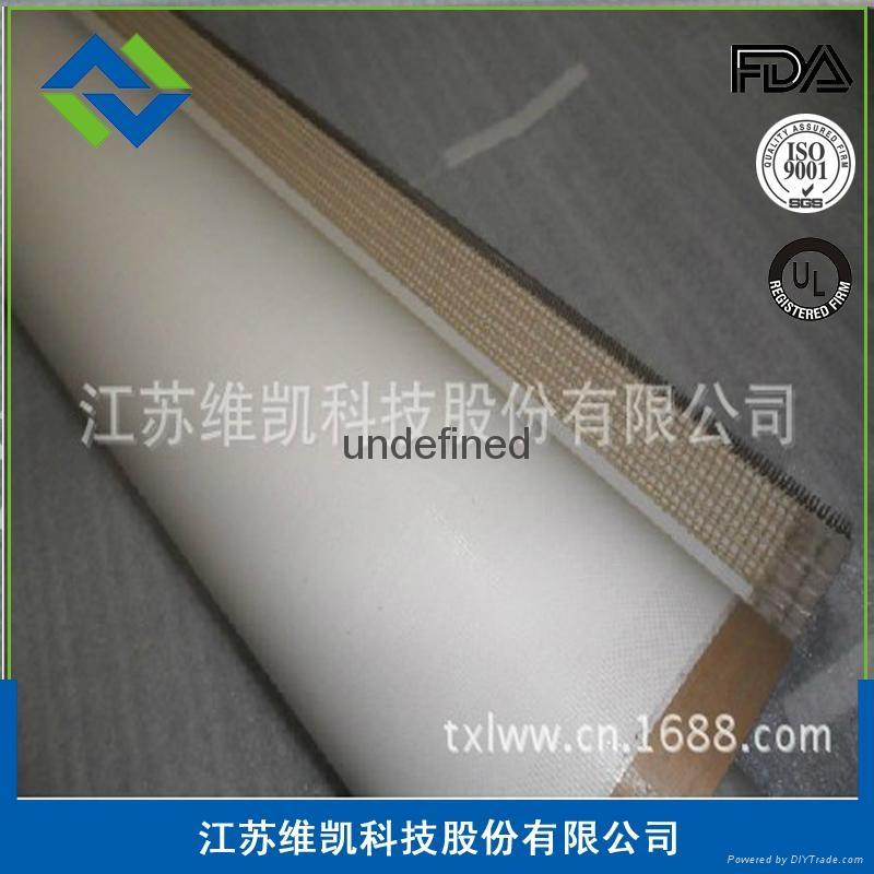 维凯厂价出售特氟龙铁氟龙防粘输送带 2