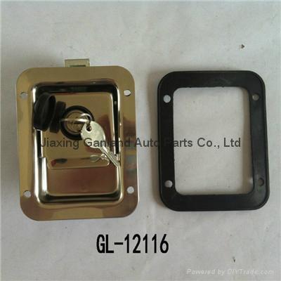 Stainless Steel Truck Toolbox Right Hand Latch Locks Key Locking 1