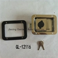 Stainless Steel Truck Toolbox Right Hand Latch Locks Key Locking 2