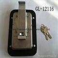 Stainless Steel Truck Toolbox Right Hand Latch Locks Key Locking 3