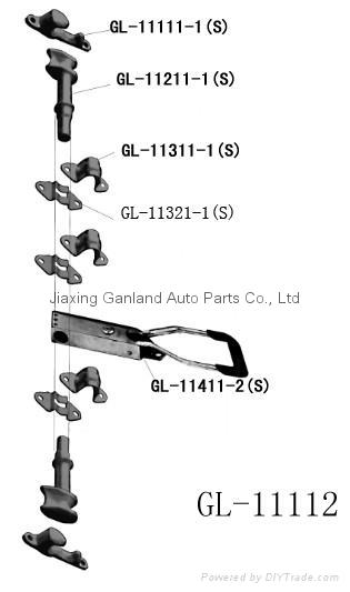 Brand Van Body Parts Recessed Truck Door handle Lock 2