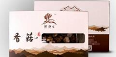 村菇娘青川三锅乡香菇干货山珍盒装225g