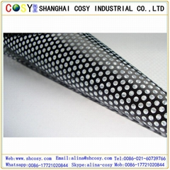 High quality perforated vinyl one way vision for window screen
