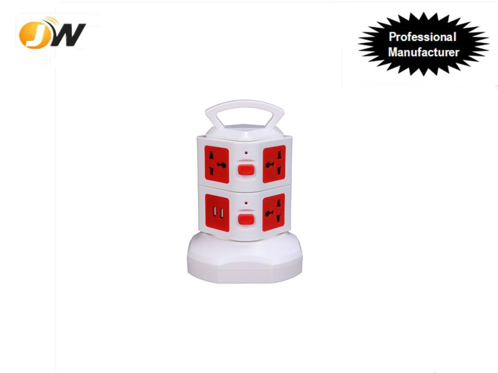 New design portable extensible usb socket outlet with multiple plugs 1
