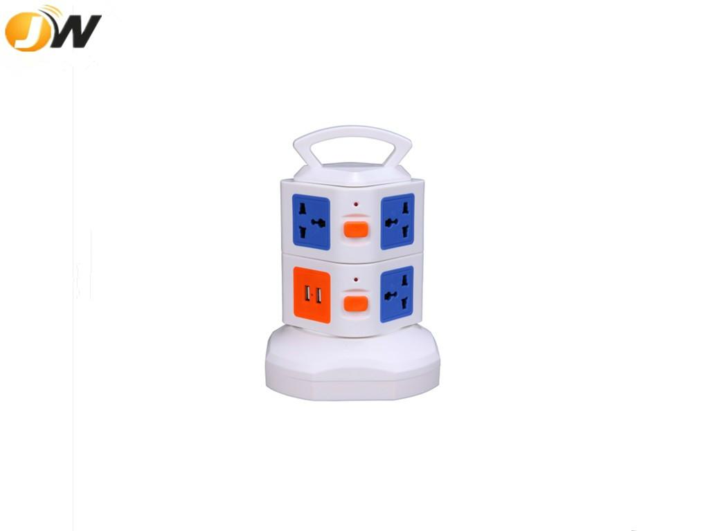 New design portable extensible usb socket outlet with multiple plugs 3