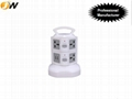 New design portable extensible usb socket outlet with multiple plugs 4