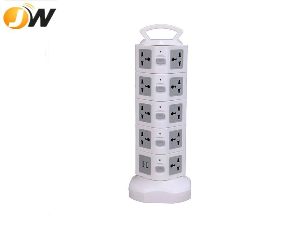 Multipurpose 5 layer electrical outlet socket for home appliance 4