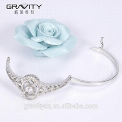 Korean fashion jewelry 925 sterling silver bangle and bracelet