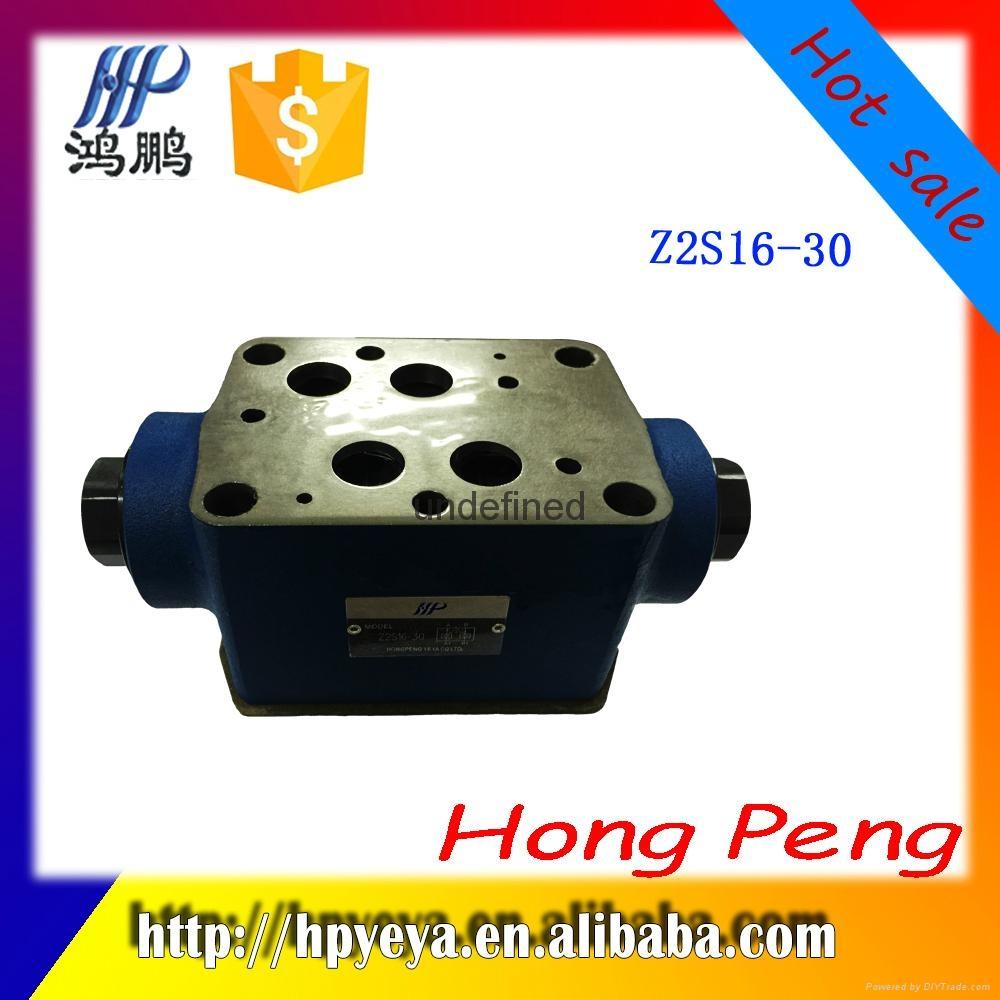 Z2S10-1-20B hydraulic system pressure va  e, two-way hydraulic solenoid va  e 3