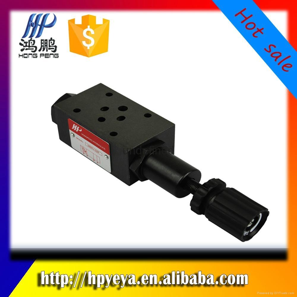 MBRV-02P / A / B hydraulic pressure reducing va  e, hydraulic system va  e 1
