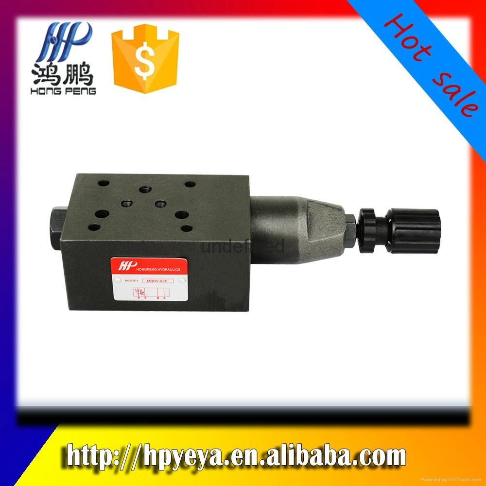 MBRV-02P / A / B hydraulic pressure reducing va  e, hydraulic system va  e 4