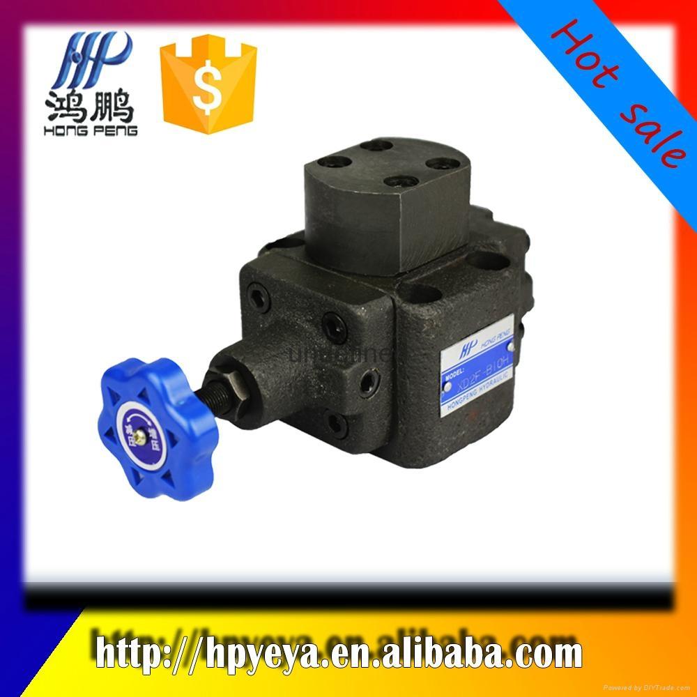 Hydraulic mechanical sequence va  e, XD2F series, hydraulic direct control va  e 1