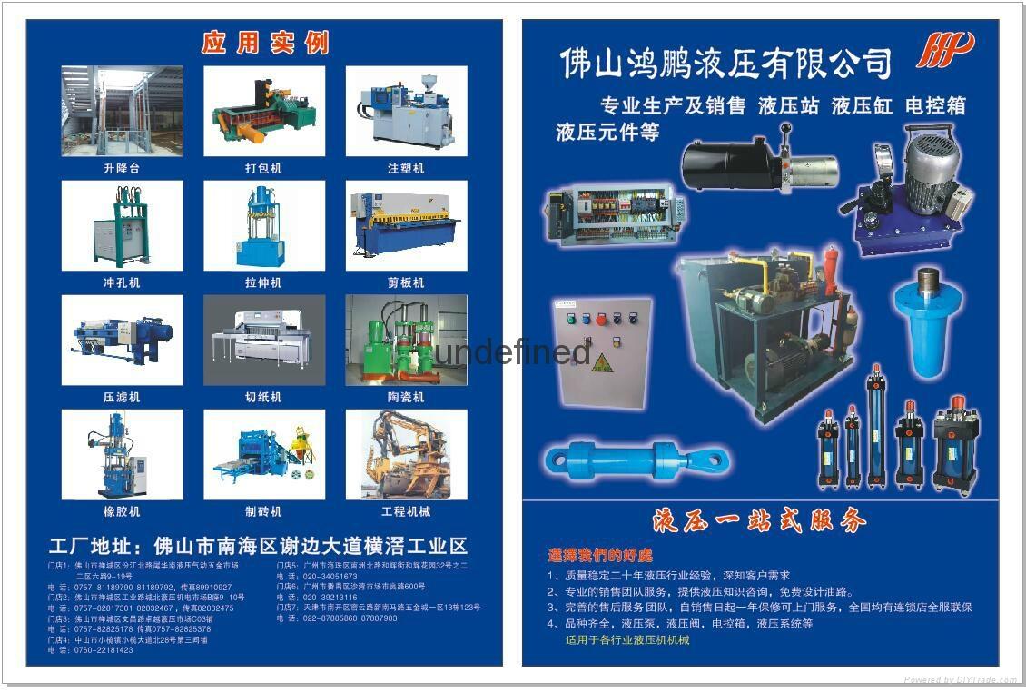 Hydraulic mechanical sequence va  e, XD2F series, hydraulic direct control va  e 3