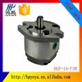 Foshan high-pressure miniature small displacement gear pump HGP-1A-F1R F2R F3R  2