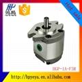 Foshan high-pressure miniature small displacement gear pump HGP-1A-F1R F2R F3R  4