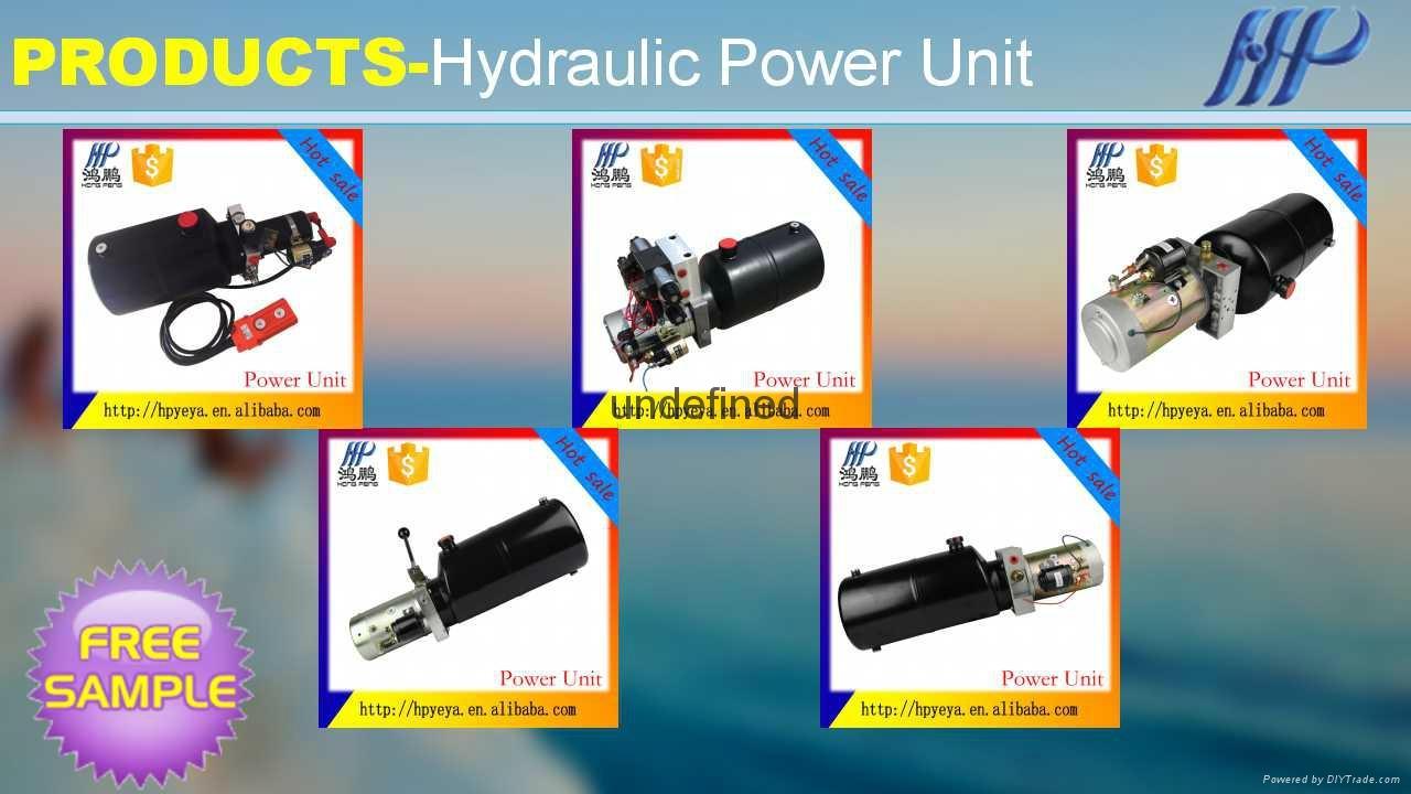 Power unit manual / electric oil pump 220V 24V 12V 3