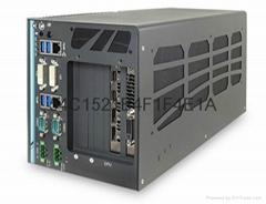 强固性无风扇工业电脑Nuvo-6108GC