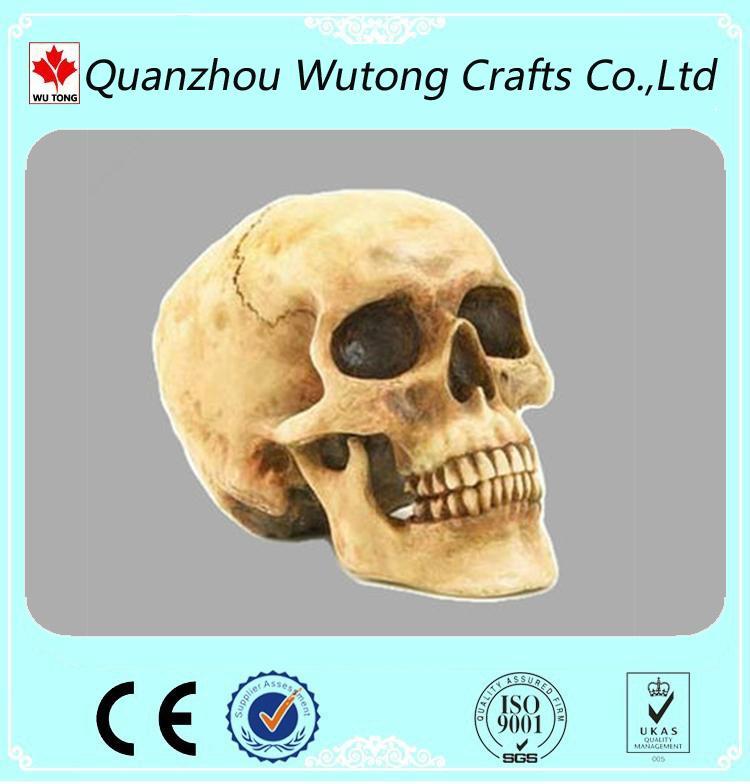 Promotional gift resin skull figure 2