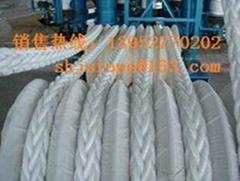 高強滌綸/丙綸混編繩纜船用纜繩