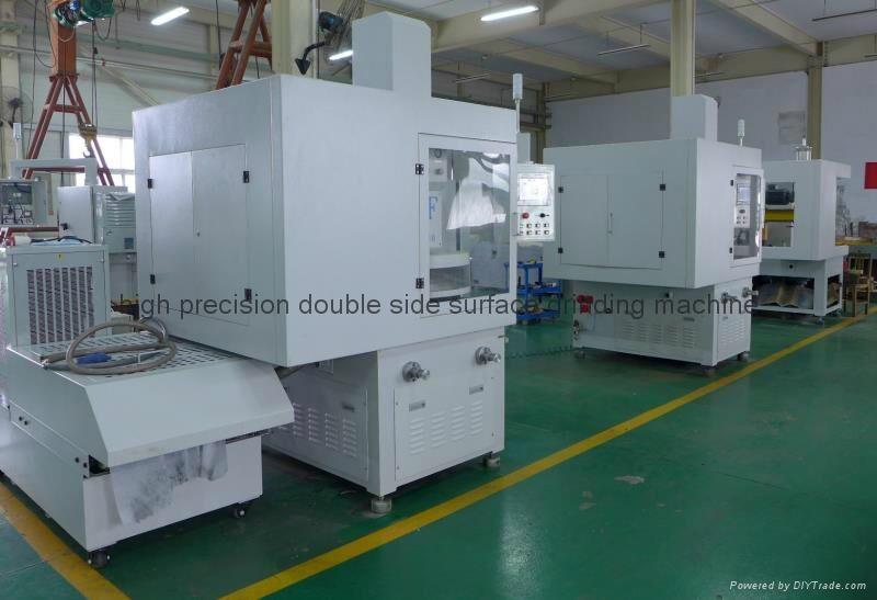 Semiconductor surface polishing machine 1
