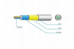 Single core ecg raw wire