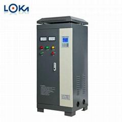 罗卡30kW水泵风机电机在线软启动柜