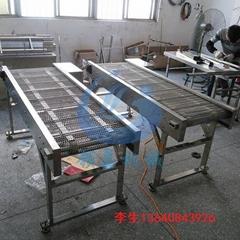 不锈钢网链输送机