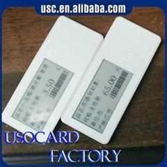 2017 new product RFID NFC display ESL label price label