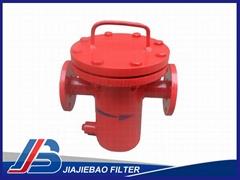 DN40 Active Carbon Steel Basket strainer