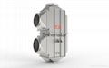 IndustrialAirto WaterHeatExchanger Efficent Laser Welding Embossed Design 4