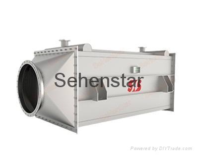 IndustrialAirto WaterHeatExchanger Efficent Laser Welding Embossed Design 5