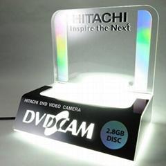 LED发光胶架