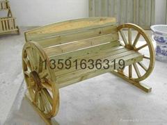 沈阳碳化木桌椅