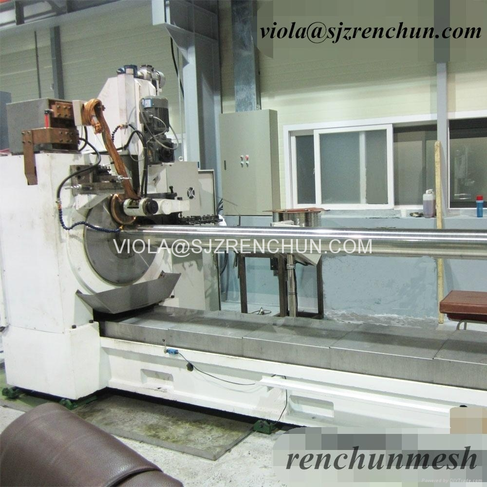 New Drum Intake Wedge Wire Screen Welding Machine for Water Treatment 1