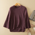 Lady's new fashion knitting pullover pure cashmere casual style thick sweater 1