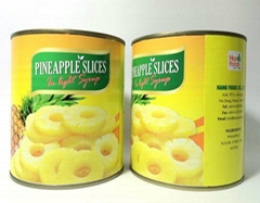 Canned Fresh Pineapple from Vietnam