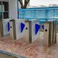 工厂健康会所幼儿园小区通道出入电子围栏指静脉识别闸机 3