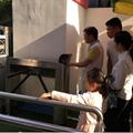 工厂健康会所幼儿园小区通道出入电子围栏指静脉识别闸机 4