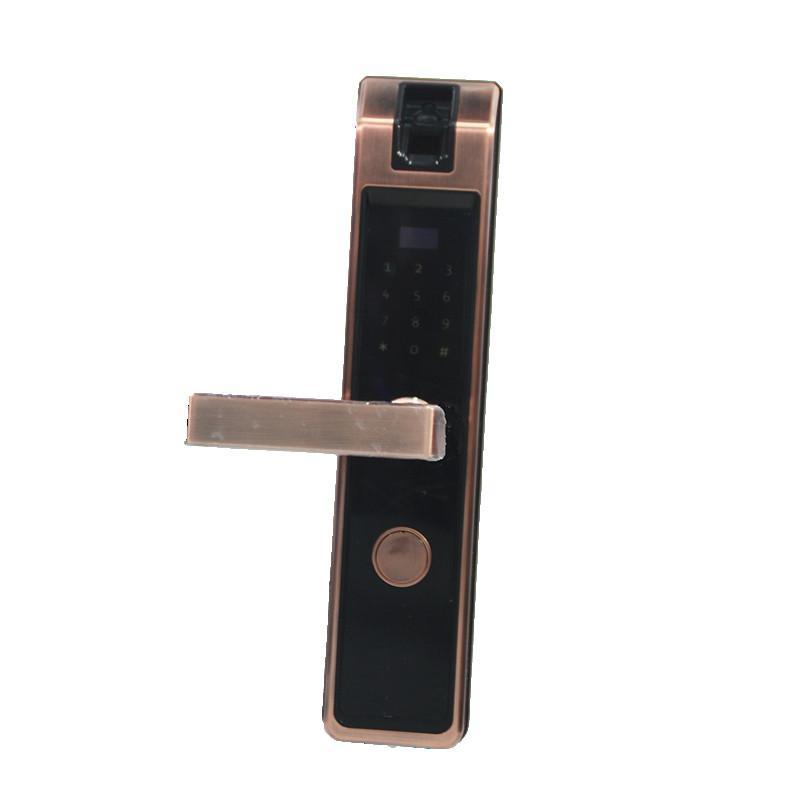 高端家用電子智能家居專用安防指靜脈識別智能門鎖 2