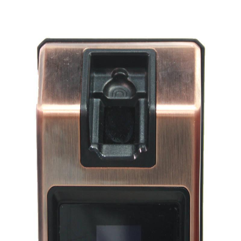 高端家用電子智能家居專用安防指靜脈識別智能門鎖 3